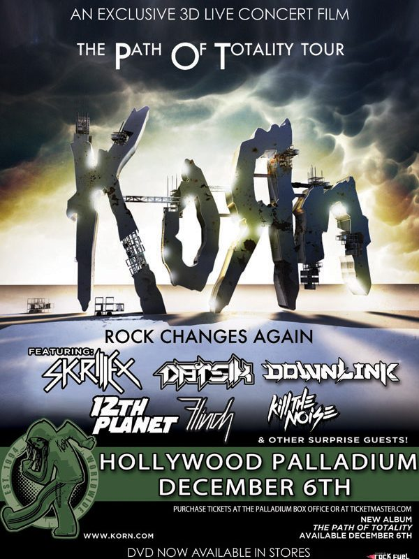 Korn Live at the Palladium in 3D